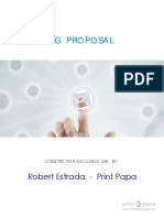 Expo Email Marketing Proposal