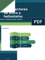 3.6 Colectores de Disco y Heliostatos