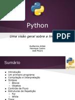 Linguagem Python 2