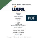 tarea 4 Historia de la Civilización Media  Yessenia Payano.docx