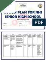 SHS Action Plan