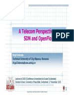 A Telecom Perspective SDN & OpenFlow