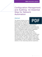 Accelerating Telecom Transformation With Network Configuration Auditing