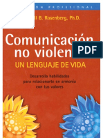 COMUNICACION NO VIOLENTA (Un Lenguaje de Vida)Marshall B Rosenberg