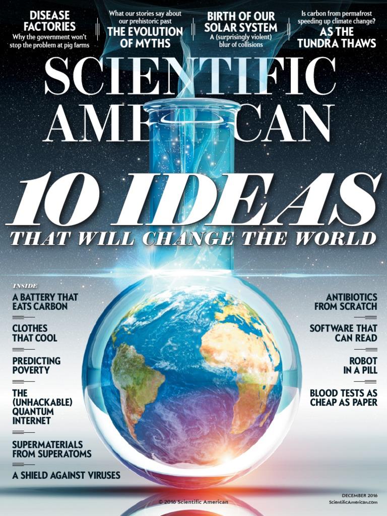 Scientific American Dec 40   Antimicrobial Resistance   Science