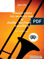 AYCAN TEZTEL -  Shortcuts to warm-up and Daily Technical Studies  for Trombone