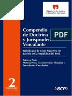 Compendio Doctrina Legal y Jurisprudencia Tomo II