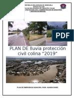 Plan de Lluvia 2019 Municipio Colina Edo. Falcon