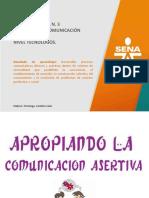 3.1 Presentación Comunicación Asertiva
