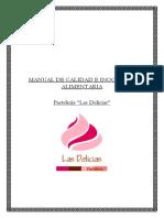 Manual de Calidad e Inocuidad Alimentaria1
