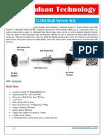 SFU1204 Ball Screw Kit(1)
