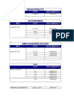 Boletín Impositivo - Junio 2019