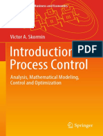 Victor a. Skormin (Auth.) - Introduction to Process Control_ Analysis, Mathematical Modeling, Control and Optimization (2016, Springer International Publishing)