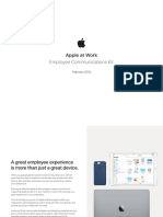 Apple Employee Communications Kit