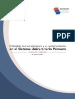 Guia de Modelo de Licenciamiento Insttitucional Sunedu