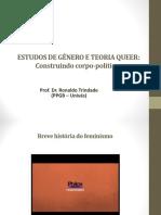 Formação Em Gênero e Sexualidade - professor dr. Ronaldo Trindade