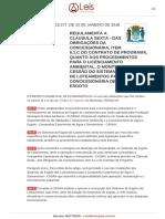 Decreto 18277 2018 Florianopolis SC