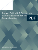 Protect Critical Iot Devices With Vxworks Secure Boot and Secure Loading