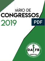Calendário de Congressos 2019