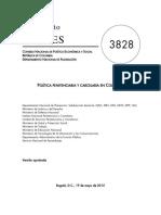 CONPES Política Penitenciaria y Carcelaria 2015