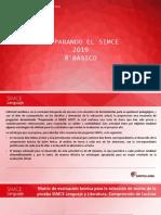 Preparando El SIMCE 2019 (Informativo Lenguaje 8)