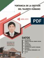 Importancia de la Gestión del Talento Humano - Bonilla Paucar Robert Hooxe.docx