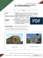 Guia 2 Viviendas Alimentacion y Vestimenta de Grecia - Evaluada