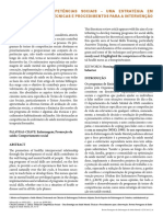 Treino de Competências Sociais PDF
