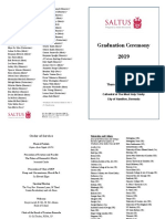 Graduation Prize Winners