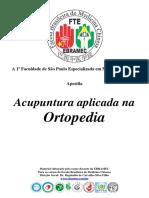 ACUPUNTURA NA ORTOPEDIA