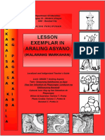 Aral Pan 7_Lesson Exemplar Sinaunang Kabihasnan Sa Asya