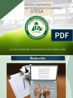 Redacción-concepto y Características