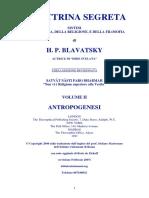 La Dottrina Segreta Vol.2 Antropogenesi h.p.blavatsky