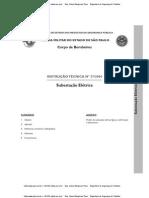 IT nº 37-2004  Corpo de Bombeiros Subestações Elétrica