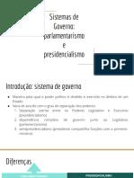 Sistemas de Governo_ Parlamentarismo e Presidencialismo (1)