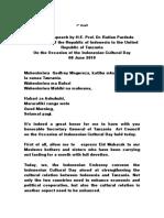 Welcoming Speech ICD 08 June  2019.doc