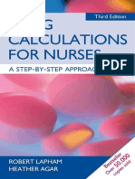 145-Drug Calculations for Nurses a Step by Step Approach, 3rd Edition-Robert Lapham Heather Agar