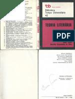 Eduardo Portella - Teoria Literária-Tempo Brasileiro (1976)