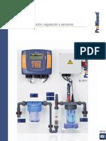 Tecnica Medicion Regulacion Sensores Catalogo de Productos ProMinent 2016 Folio 2 (1)
