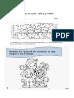 Derechos de Niños y Niñas 3 y 4 p