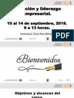 Curso Direccion Liderazgo 10sep2018