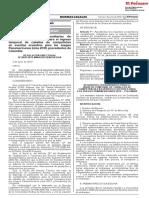 Aprueban requisitos zoosanitarios de cumplimiento obligatorio para el ingreso temporal de caballos de competición en eventos ecuestres para los Juegos Panamericanos Lima 2019, procedentes de Colombia