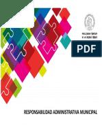 Responsabilidad Administrativa Municipal