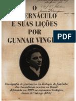 O Tabernáculo e as suas lições por Gunnar Vingren - Gunnar Vingren-1