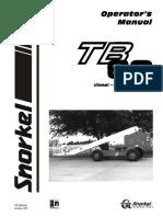 Snorkel TB60 2001 User Manual