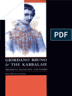 K. Silvia de León-Jones - Giordano Bruno and the Kabbalah