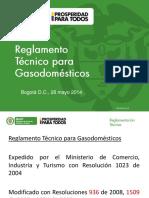 Reglamento Tecnico Gasodomesticos Instalaciones Internas y a Gas