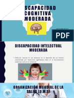 DISCAPACIDAD INTELECTUAL MODERADA