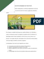 Importancia de La Antropología Como Ciencia Social (1)
