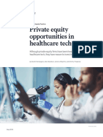 Private Equity Opportunities in Healthcare Tech VF